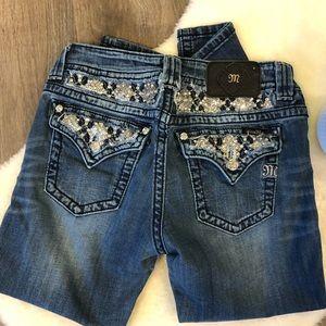 Miss Me Boyfriend Capri Jeans- size 28